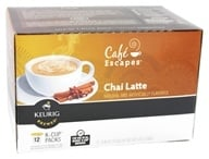 Keurig - Cafe Escapes Chai Latte 12 K-Cups - 5.93 oz.