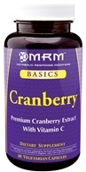 MRM - Cranberry - 60 Vegetarian Capsules by MRM