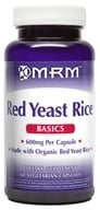 MRM - Red Yeast Rice 600 mg. - 60 Vegetarian Capsules, from category: Nutritional Supplements