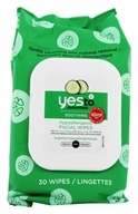 Yes To - Cucumbers Facial Towelettes Natural Glow - 30 Towelette(s) - $4.99
