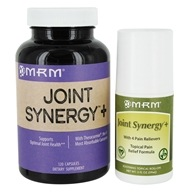 MRM - Joint Synergy Plus 120 Capsules & 2 oz. Roll-On Value-Pack - $20.31