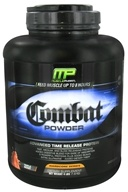 Muscle Pharm - Combat Advanced Time Release Protein Powder Triple Berry - 4 lbs.