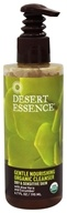Desert Essence - Gentle Nourishing Organic Cleanser For Dry & Sensitive Skin - 6.7 oz.