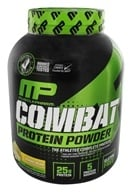 Image of Muscle Pharm - Combat Advanced Time Release Protein Powder Banana Cream - 4 lbs.