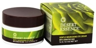 Desert Essence - Gentle Nourishing Eye Cream For Dry & Sensitive Skin Fragrance-Free - 0.5 oz. by Desert Essence