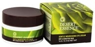 Desert Essence - Gentle Nourishing Eye Cream For Dry & Sensitive Skin Fragrance-Free - 0.5 oz.