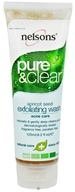 Nelsons - Pure & Clear Apricot Seed Exfoliating Wash Acne Care Fragrance-Free - 4.2 oz. by Nelsons