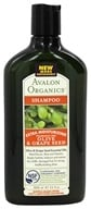 Avalon Organics - Shampoo Extra Moisturizing Olive & Grape Seed Fragrance-Free - 11 oz.