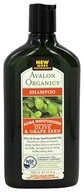 Avalon Organics - Shampoo Extra Moisturizing Olive & Grape Seed Fragrance-Free - 11 oz. by Avalon Organics