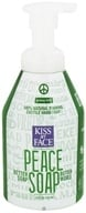 Image of Kiss My Face - Peace Soap 100% Natural Foaming Castile Hand Soap Grassy Mint - 8 oz.