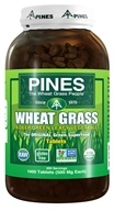 Pines - Wheat Grass Tablets 500 mg. - 1400 Tablets by Pines