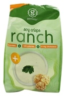 Genisoy - Soy Crisps Naturally Flavored Creamy Ranch - 3.85 oz. by Genisoy