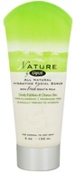 Canus - Nature All Natural Hydrating Facial Scrub with Fresh Goat's Milk Fragrance Free - 5 oz.
