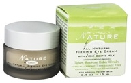 Canus - Nature All Natural Firming Eye Cream with Fresh Goat's Milk Fragrance Free - 0.5 oz. by Canus