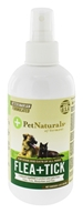 Pet Naturals of Vermont - Flea + Tick Repellent Spray for Dogs, Cats & Horses - 8 oz.