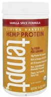 Living Harvest - Tempt Hemp Protein Vanilla Spice Formula - 16 oz., from category: Health Foods