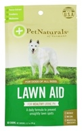 Pet Naturals of Vermont - Lawn Aid For Dogs Chicken Liver Flavored - 60 Chews - $6.53