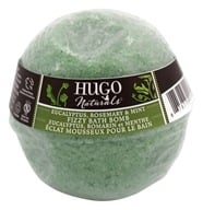 Hugo Naturals - Fizzy Bath Bomb Eucalyptus, Rosemary & Mint - 6 oz.