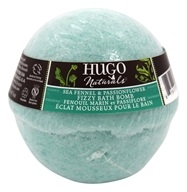 Hugo Naturals - Fizzy Bath Bomb Sea Fennel & Passionflower - 6 oz.