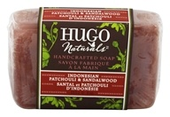 Hugo Naturals - Handcrafted Bar Soap Sensuous Indonesian Patchouli & Sandalwood - 4 oz.