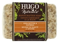 Hugo Naturals - Handcrafted Bar Soap Shea Butter & Oatmeal - 4 oz.