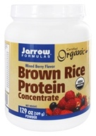 Image of Jarrow Formulas - Brown Rice Protein Powder Mixed Berry - 1.1 lb.