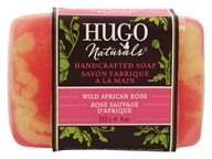 Hugo Naturals - Handcrafted Bar Soap Wild African Rose - 4 oz.