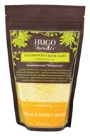 Hugo Naturals - Effervescent Bath Salts Comforting Vanilla & Sweet Orange - 14 oz. (879779004324)