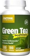 Jarrow Formulas - Green Tea Decaffeinated 500 mg. - 100 Vegetarian Capsules, from category: Diet & Weight Loss
