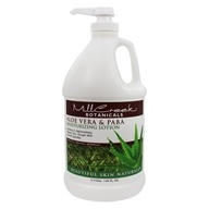 Mill Creek Botanicals - Moisturizing Lotion Aloe Vera & PABA - 64 oz. by Mill Creek Botanicals