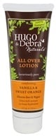 Image of Hugo Naturals - All Over Lotion Comforting Vanilla & Sweet Orange - 8 oz.