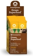 Image of Amazing Grass - Green SuperFood Drink Powder Cacao Chocolate Infusion - 15 Packet(s)
