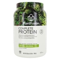 PlantFusion - Nature's Most Complete Plant Protein Lightly Sweetened Unflavored - 2 lbs. by PlantFusion