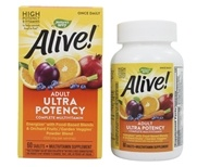 Nature's Way - Alive Once Daily Multi-Vitamin Whole Food Energizer Ultra Potency - 60 Tablets (033674156797)