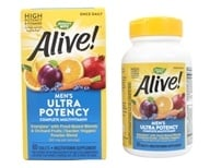 Image of Nature's Way - Alive Once Daily Men's Multi-Vitamin & Whole Food Energizer Ultra Potency - 60 Tablets