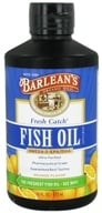 Barlean's - Fresh Catch Fish Oil Omega-3 EPA/DHA Orange Flavor - 16 oz. DAILY DEAL