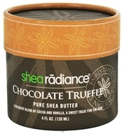Shea Radiance - Pure Shea Butter Chocolate Truffle - 4 oz. - $12.21