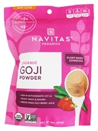 Navitas Naturals - Freeze-Dried Goji Berry Powder Certified Organic - 8 oz. (858847000635)