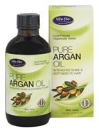 Life-Flo - Pure Argan Oil Cold Pressed Organically Grown - 4 oz. (645951425351)