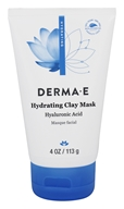 Derma-E - Hydrating Clay Mask With Hyaluronic Acid - 4 oz. Hydrating Mask With Hyaluronic Acid