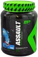 Muscle Pharm - Assault Extreme Pre-Workout Matrix Blue Arctic Raspberry - 1.62 lbs.