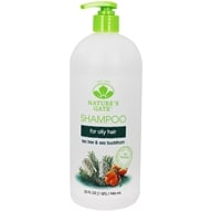 Image of Nature's Gate - Shampoo Calming Tea Tree - 32 oz.