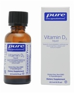 Pure Encapsulations - Vitamin D3 Liquid - 0.75 oz. (766298010694)
