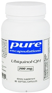 Pure Encapsulations - Ubiquinol-QH 200 mg. - 60 Softgels by Pure Encapsulations