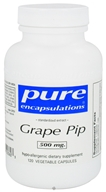 Pure Encapsulations - Grape Pip Standardized Grape Seed Extract 500 mg. - 120 Vegetarian Capsules DAILY DEAL - $67.98