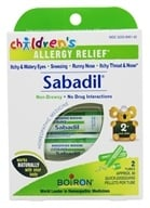 Boiron - Children's Sabadil Pellets - 2 Tubes, from category: Homeopathy
