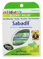 Image of Boiron - Children's Sabadil Pellets - 2 Tubes