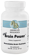 Image of American Biologics - Ultra Brain Power - 90 Capsules