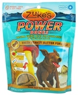 Zuke's - Power Bones Energy Treats for Active Dogs Peanut Butter Formula - 6 oz. CLEARANCE PRICED