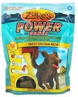 Image of Zuke's - Power Bones Energy Treats for Active Dogs Tasty Chicken Recipe - 6 oz.